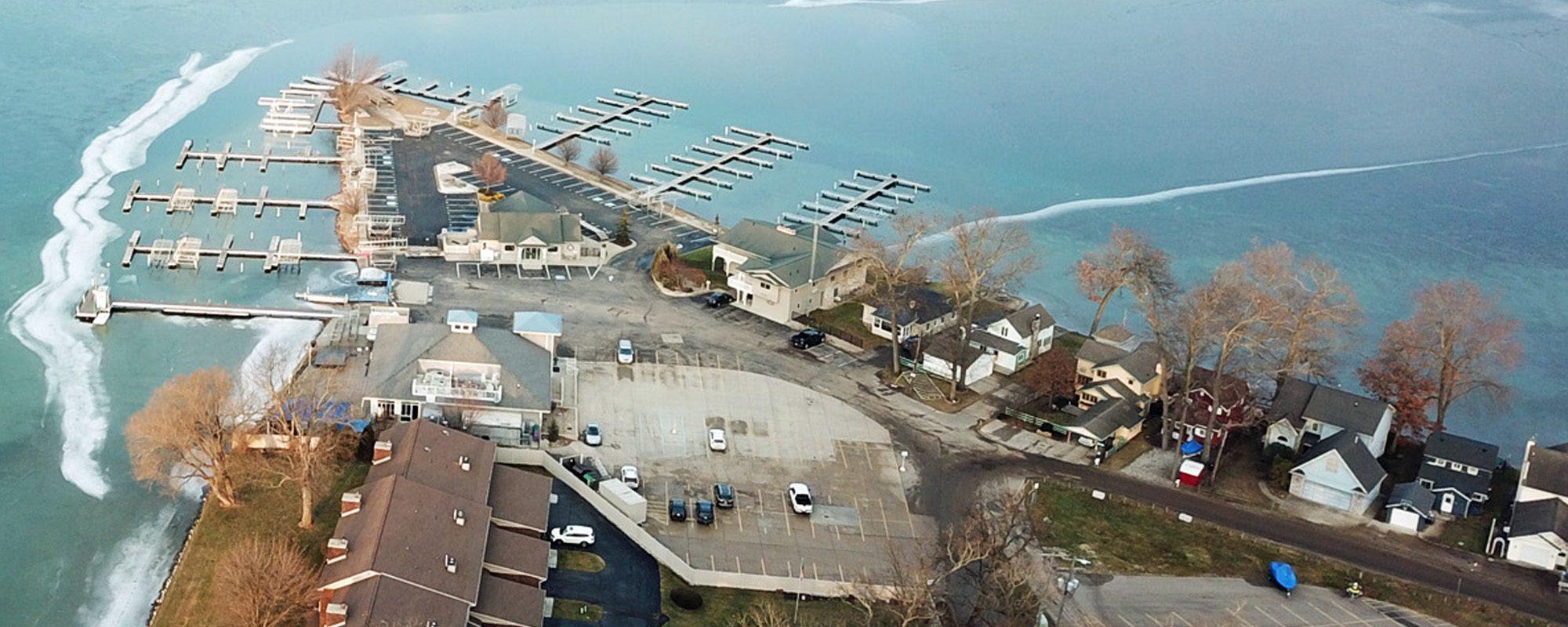 Eagle Point Marina Aerial View
